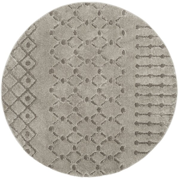 Champlain Gray Area Rug by Union Rustic
