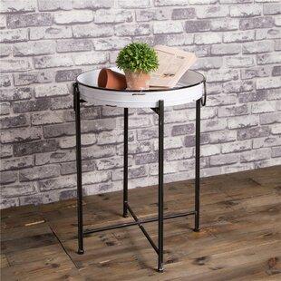 Low priced Mako Side Table ByGracie Oaks