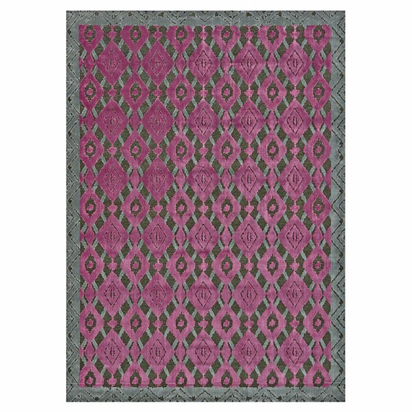Saum Pink Area Rug by Wrought Studio