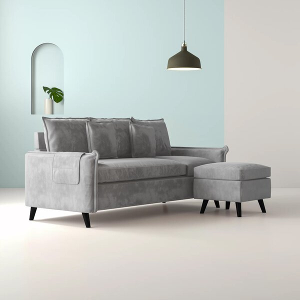Feickert Small Space Reversible Sectional by Hashtag Home
