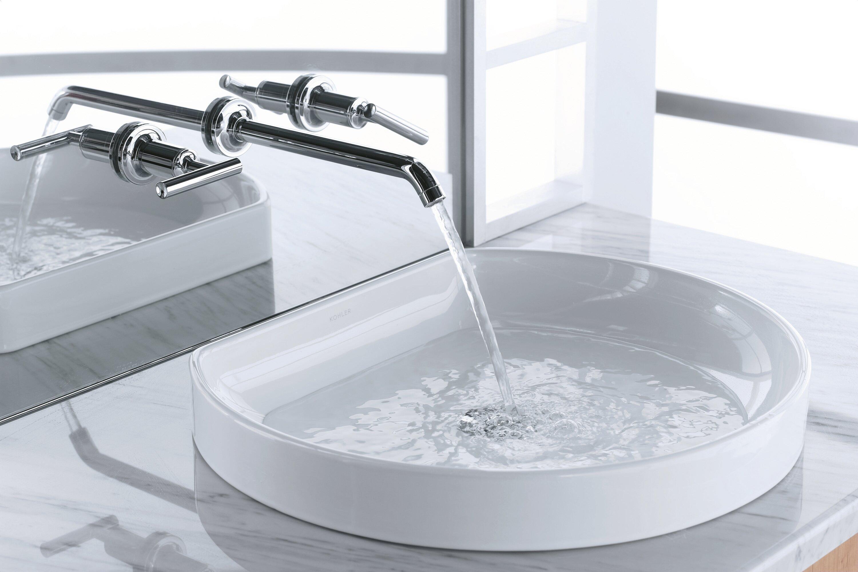 K-2332-0,47,96 Kohler Water Cove Ceramic Specialty Drop-In Bathroom ...