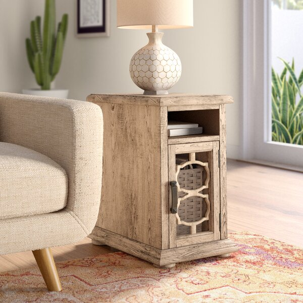 West Newbury End Table With Storage By Bungalow Rose