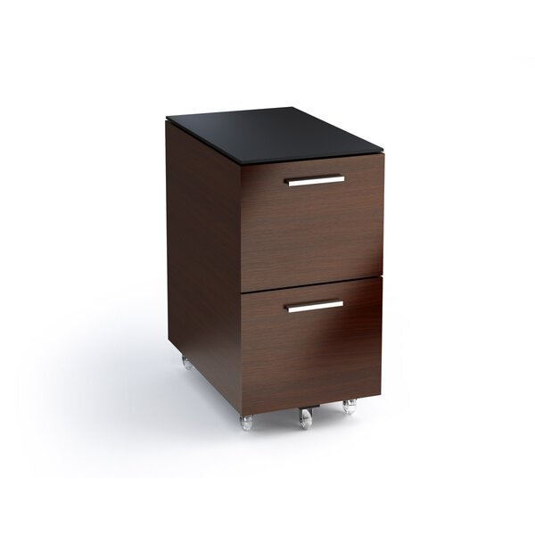 Sequel 2-Drawer Mobile Filing Cabinet by BDI