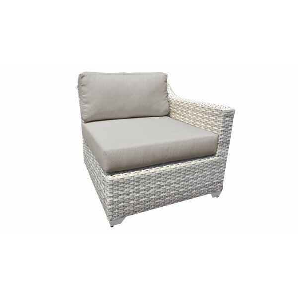 Genevieve Patio Chair with Cushions by Rosecliff Heights