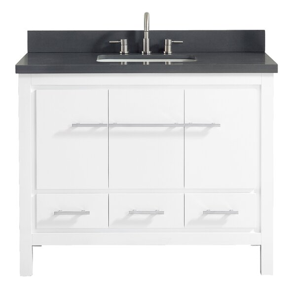 Liverman 43 Single Bathroom Vanity Set by Latitude Run