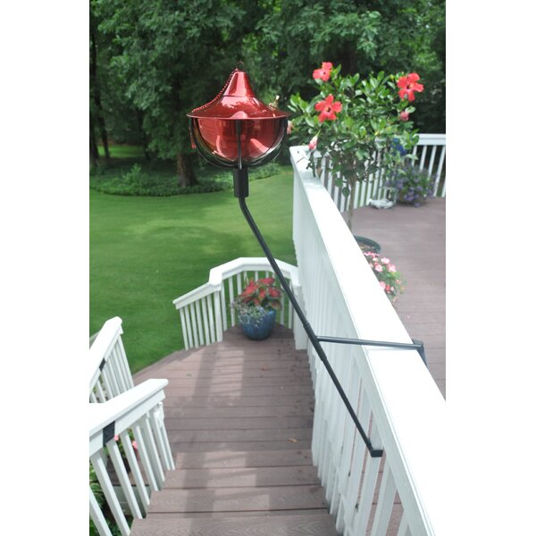 Maui Grande and Deck Mount Bracket Torch (Set of 2) by Starlite Garden and Patio Torche Co.