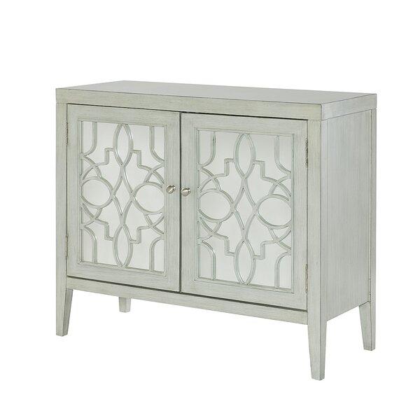 Nesrine Mirrored Door Cabinet by One Allium Way