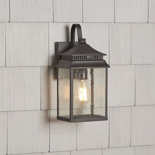 Reviews Briarfield 1-Light Outdoor Wall Lantern By Birch Lane™