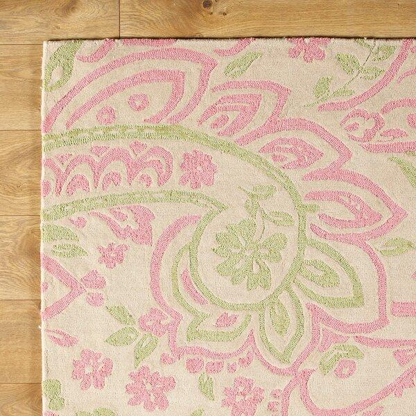 Paisley Pink Rug by Birch Lane™