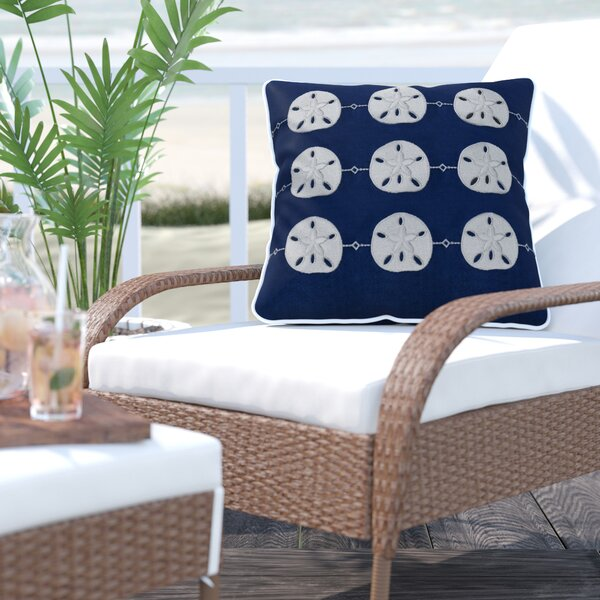 Sugarloaf Shores Outdoor Sunbrella Throw Pillow by Beachcrest Home