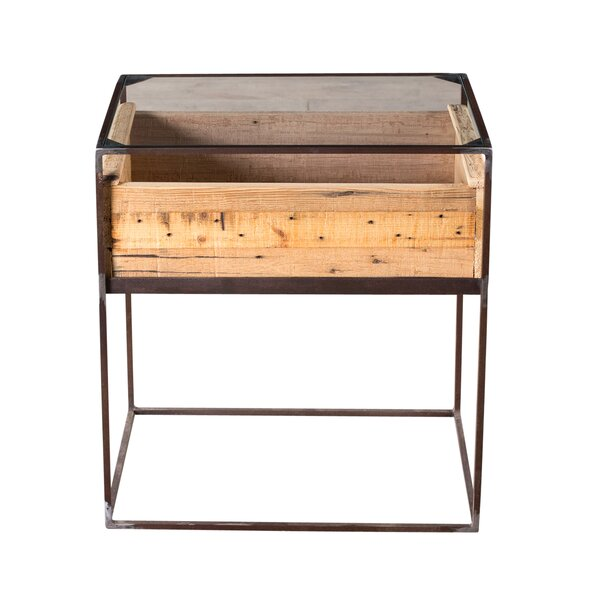 Bostick End Table By Union Rustic
