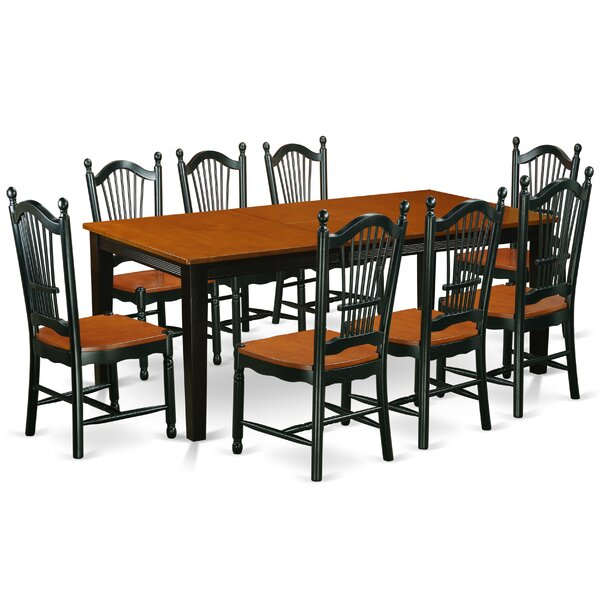 Pilger 9 Piece Dining Set by August Grove August Grove