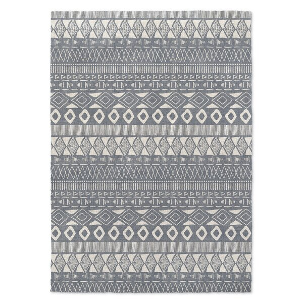 Alaia Slate Area Rug by Bungalow Rose