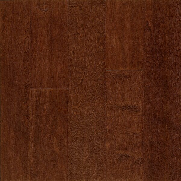 Frontier 5 Engineered Birch Hardwood Flooring in Metro Brick by Armstrong Flooring