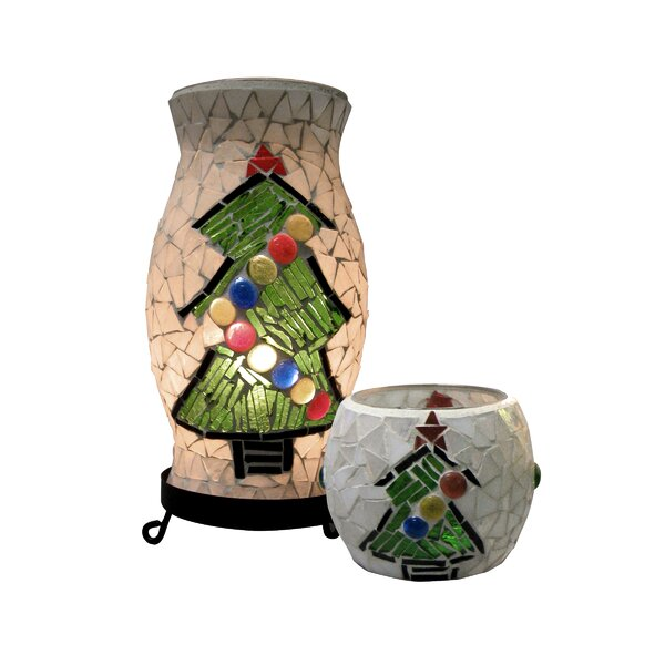 Christmas Combo Accent Lamp by The Holiday Aisle