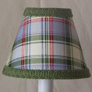 Searching for Mad for Plaid 11 Fabric Empire Lamp Shade By Silly Bear Lighting
