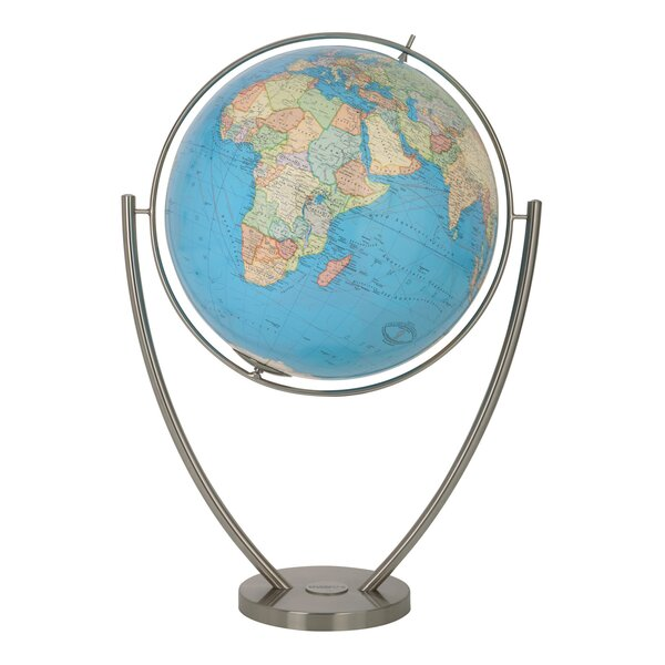 Magnum Duo Illuminated Floor Globe by Columbus Globe