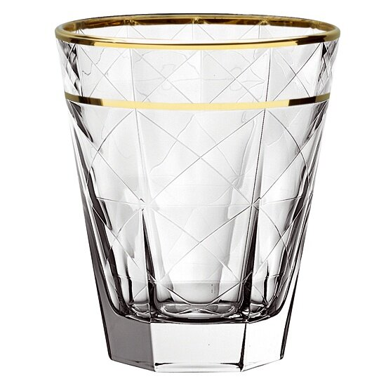 Carre Double Old Fashioned Cocktail Glass (Set of 6) by EGO