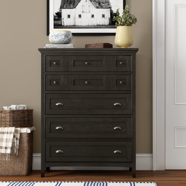 Ringgold 5 Drawer Chest by Three Posts Teen