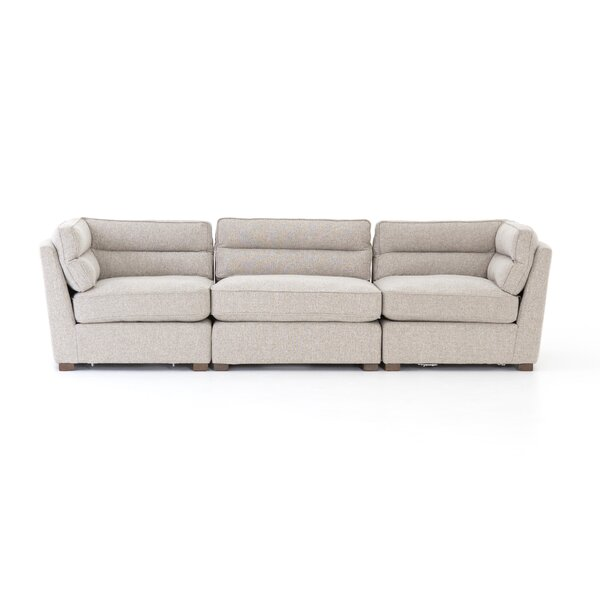 Cool Seal 3-Piece Sectional by Wrought Studio by Wrought Studio