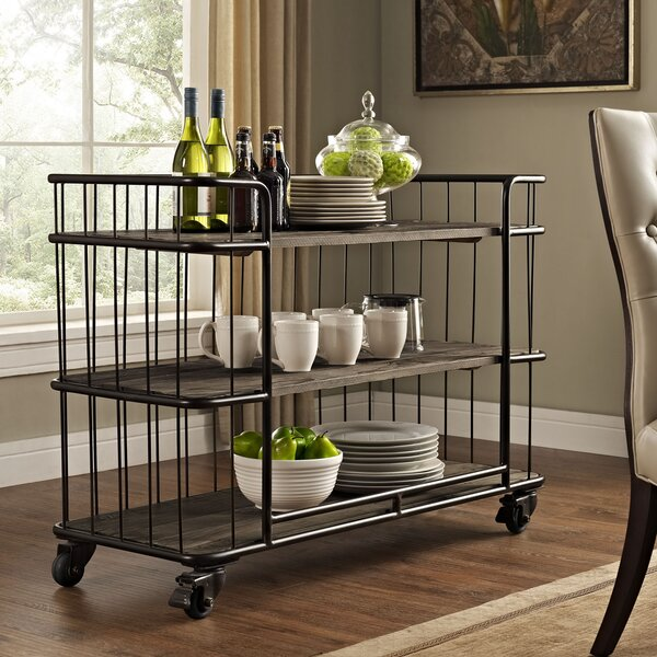 Cinch Bar Cart by Modway