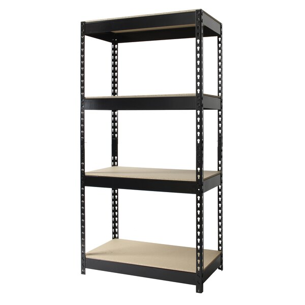 Horse Riveted 60 H 4 Shelf Shelving Unit by CommClad