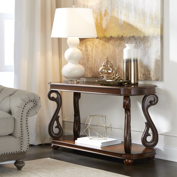 Gullickson Rectangular Console Table by Fleur De Lis Living
