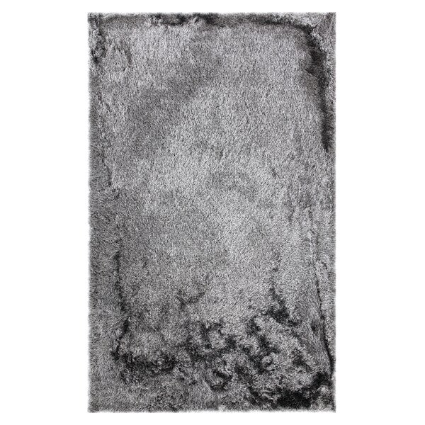 One-of-a-Kind Kailyn Hand-Knotted Charcoal Area Rug by Union Rustic