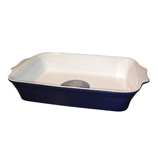 Claudia Rectangular Baker by Euro Ceramica