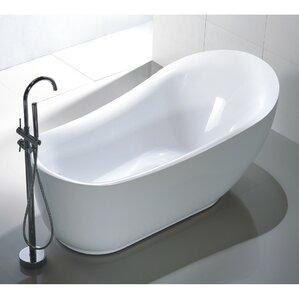 71  x 35  Freestanding Soaking BathtubFreestanding Tubs. 2 Person Soaking Tub Freestanding. Home Design Ideas