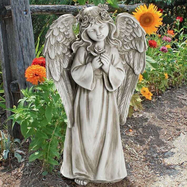 Divine Messenger Memorial Garden Angel Statue