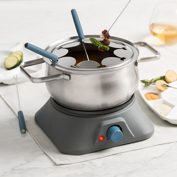 Pillar 3-in-1 Electric Fondue Set by Trudeau Corporation