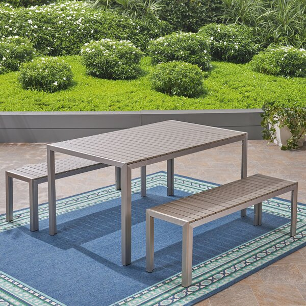 Royalston 3 Piece Dining Set by Brayden Studio