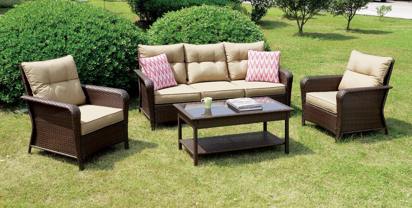 Amazing Fletcher 4 Piece Sofa Set By August Grove Best