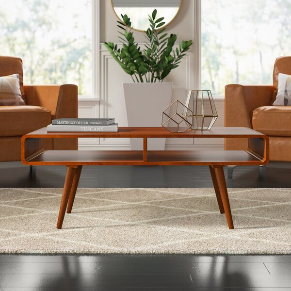 Mccurley Coffee Table with Storage by Mercury Row Mercury Row