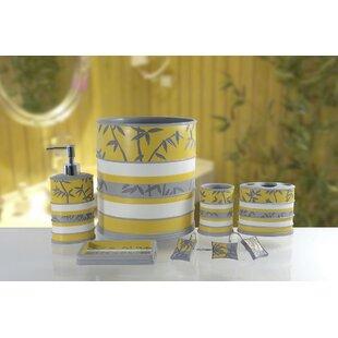 yellow bathroom accessories you ll love wayfair rh wayfair com yellow bathroom set accessories yellow bathroom
