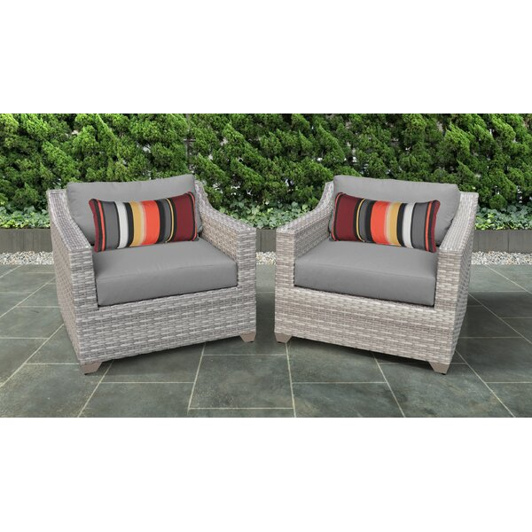 Waterbury Patio Chair with Cushions (Set of 2) by Sol 72 Outdoor