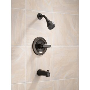 Core Pressure Balance Tub and Shower Trim with Single Lever Handle