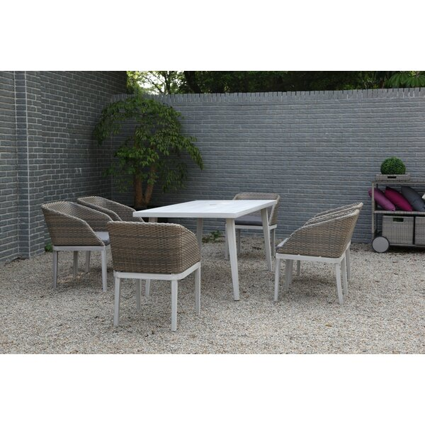 Dorothy 7 Piece Dining Set by Bayou Breeze