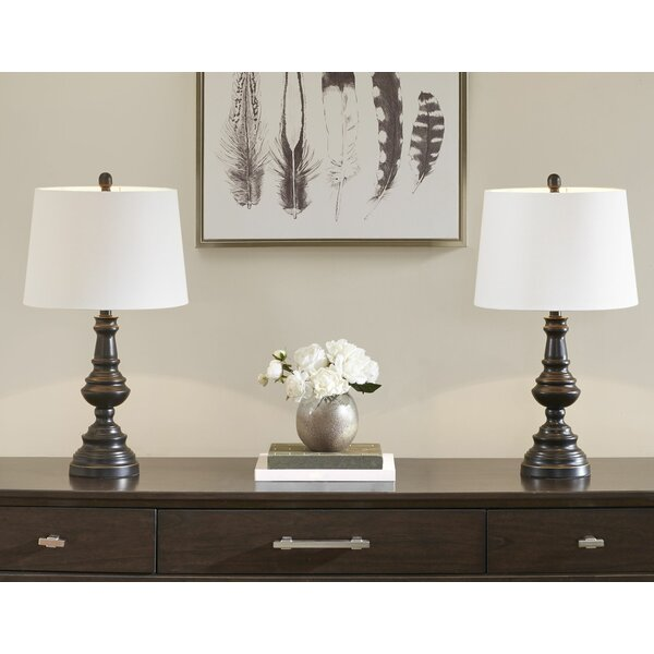 Patton 27 Table Lamp (Set of 2) by Canora Grey