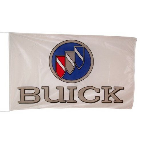Buick Logo Polyester 3 x 5 ft. Flag by NeoPlex