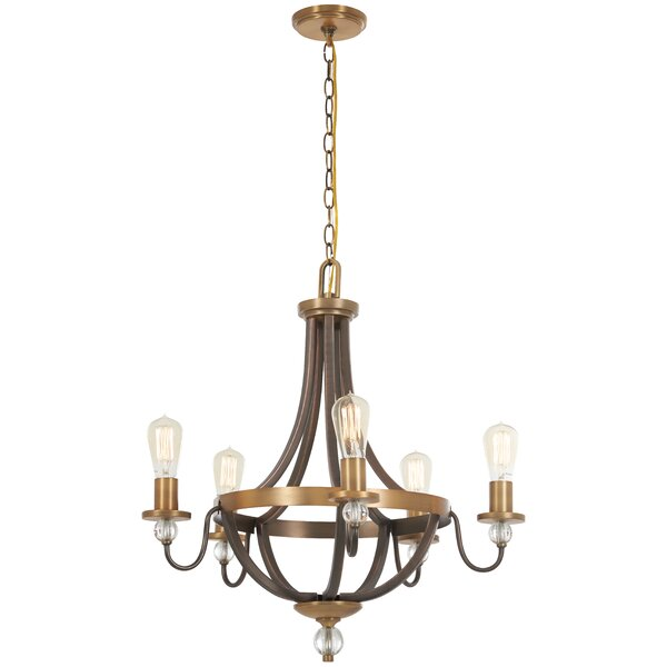 Mauer 5 - Light Candle Style Empire Chandelier by Gracie Oaks Gracie Oaks