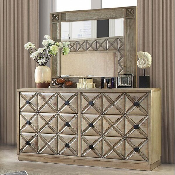 Northmoore 6 Drawer Dresser by Bungalow Rose Bungalow Rose