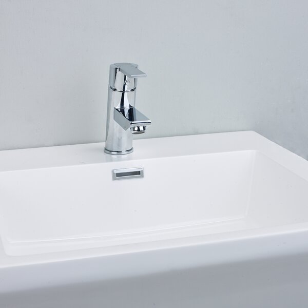 Midtown® Single Hole Bathroom Faucet With Drain Assembly By Eviva