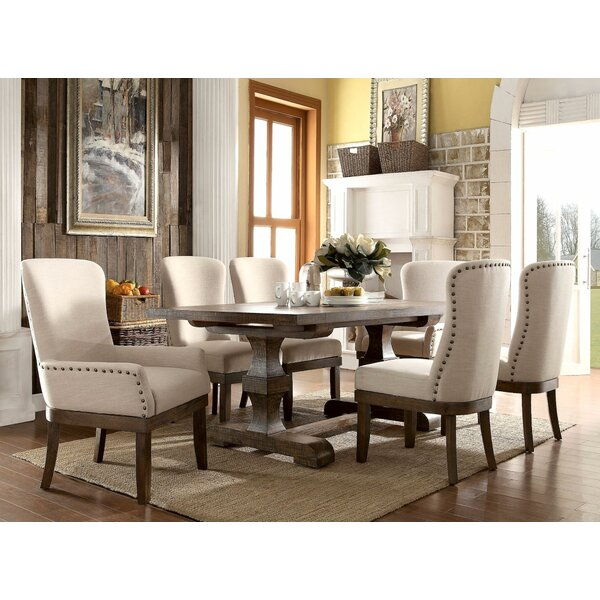Gebhart 7 Piece Dining Set by Gracie Oaks