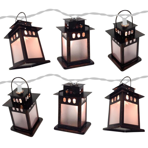10 Light Copper Lamp String Light (Set of 2) by Brite Star