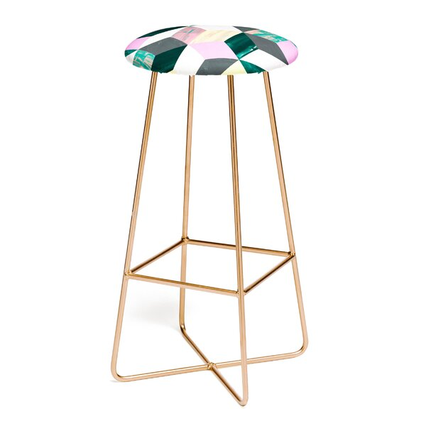 Dash and Ash Sunday Vibes 30 Bar Stool by East Urban Home