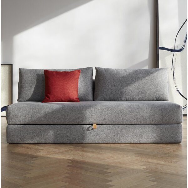 Osvald Sleek Sleeper Sofa by Innovation Living Inc.