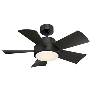 Compare 38 Elf 5 Blade Outdoor LED Ceiling Fan with Remote By Modern Forms