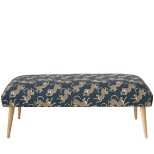 Amazing Addilynn Leopard Upholstered Bench Inzonedesignstudio Interior Chair Design Inzonedesignstudiocom